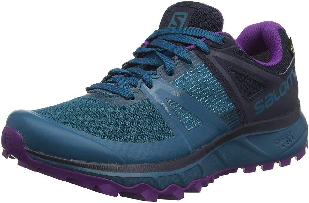 salomon gtx trail running shoe womens hospital