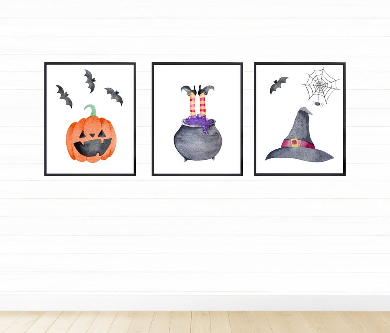 Halloween 2020 On Digital Download Printable Halloween Decor Digital Download Halloween | Etsy in