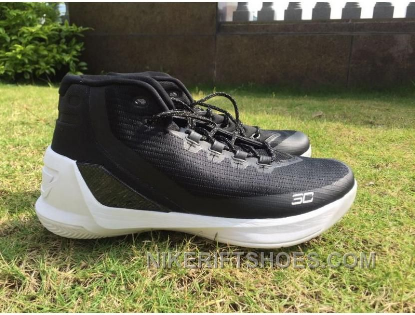 3ad5ef9b5b60 Under Armour Curry 3 Oreo Men Black White Top Deals