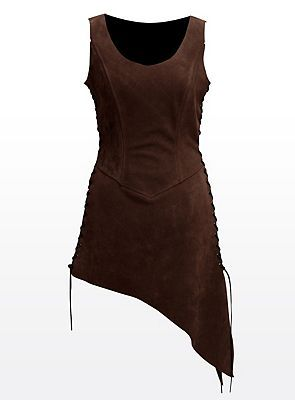 Leather tunic/jerkin. Light armour.