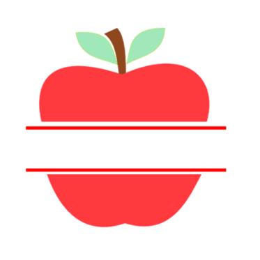 Teacher Appreciation Apple Design Svg Cricut Teachers Diy Apple Clip Art Teacher Craft