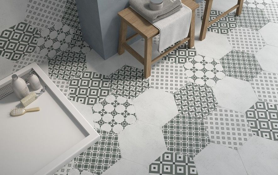Carrelage hexagonal http www m - Carrelage hexagonal sol ...