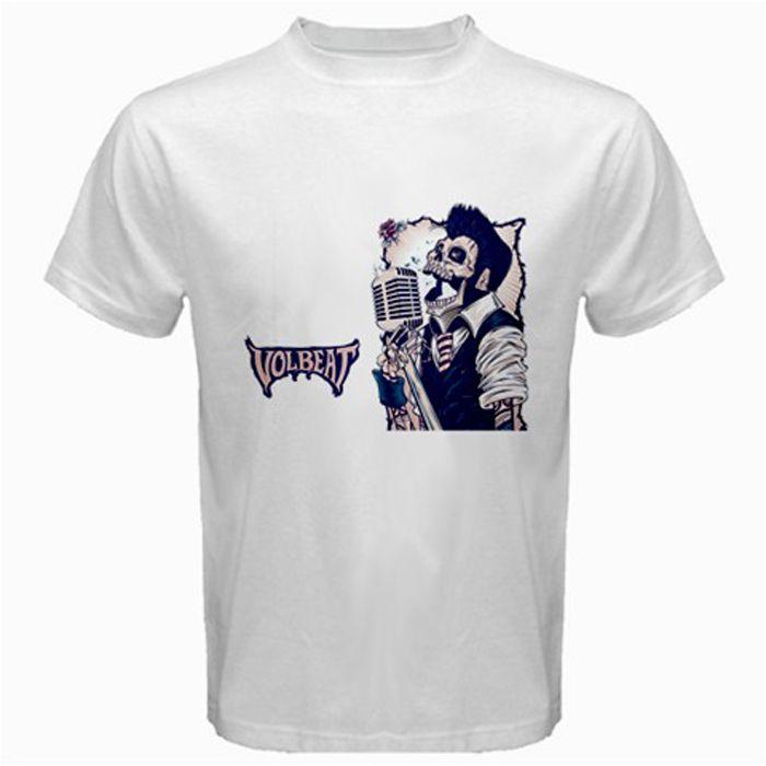 Volbeat Photo Slices Band T-shirt Fanartikel & Merchandise