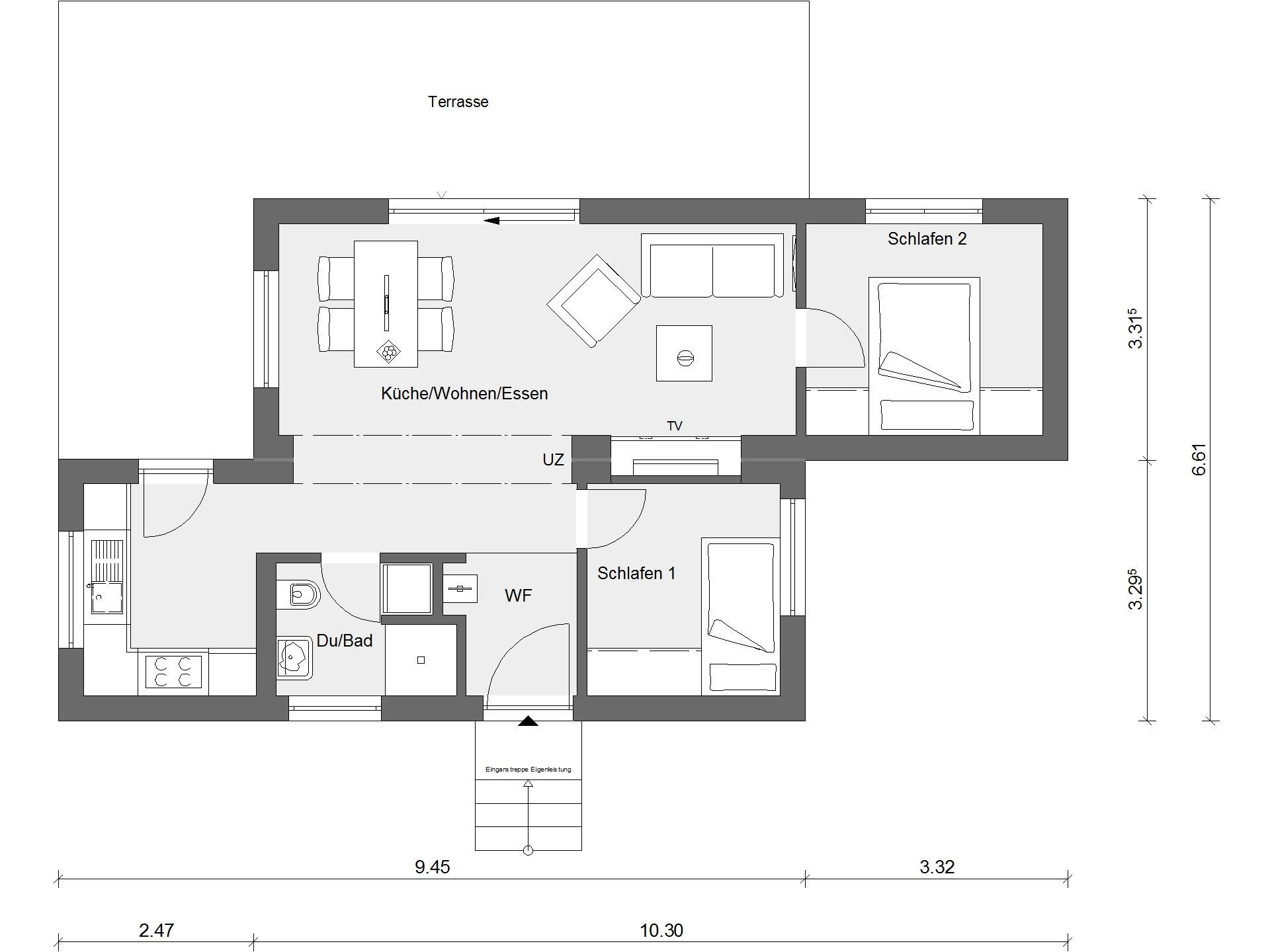 Grundriss Tiny House In 2020 Haus Grundriss Schworer Haus Haus