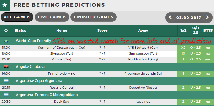 soccer betting tips and predictions