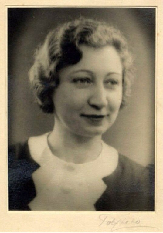 Miep Gies Early 1930s Anne Frank Zeldzame Foto S Geschiedenis