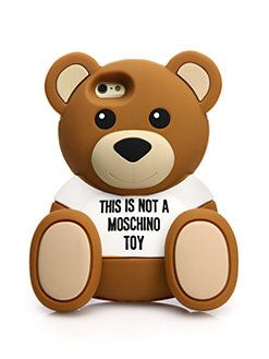 save off af221 5f646 Moschino - Teddy Bear iPhone 6 Case | Fashionable technology in 2019 ...