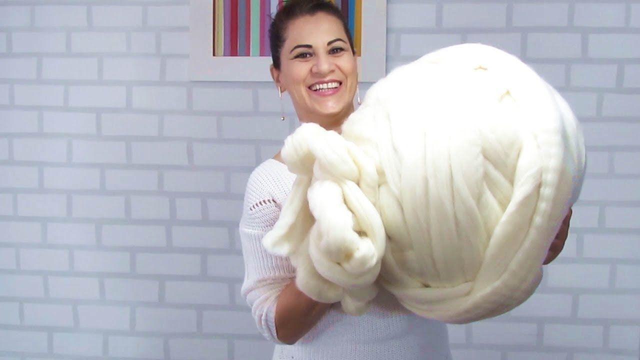 Como fazer máxi tricô com lã Merino! Consegui a lã Merino depois de muita  pesquisa através dos endereços informados nos comentários do vídeo da manta  soft. f66726134ab