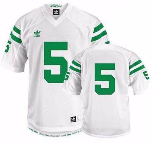 Camiseta Futbol Americano Univ De Notre Dame Adidas Xxl Nfl ... e5b024fa82e