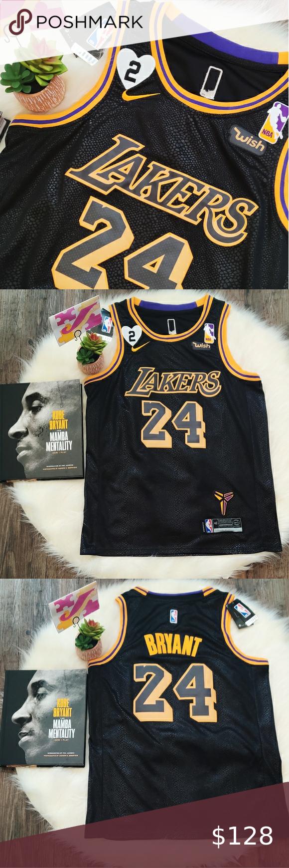 Lakers Kobe 24 Black Mamba Jersey M In 2020 Lakers Kobe Kobe Bryant 24 La Lakers Jersey
