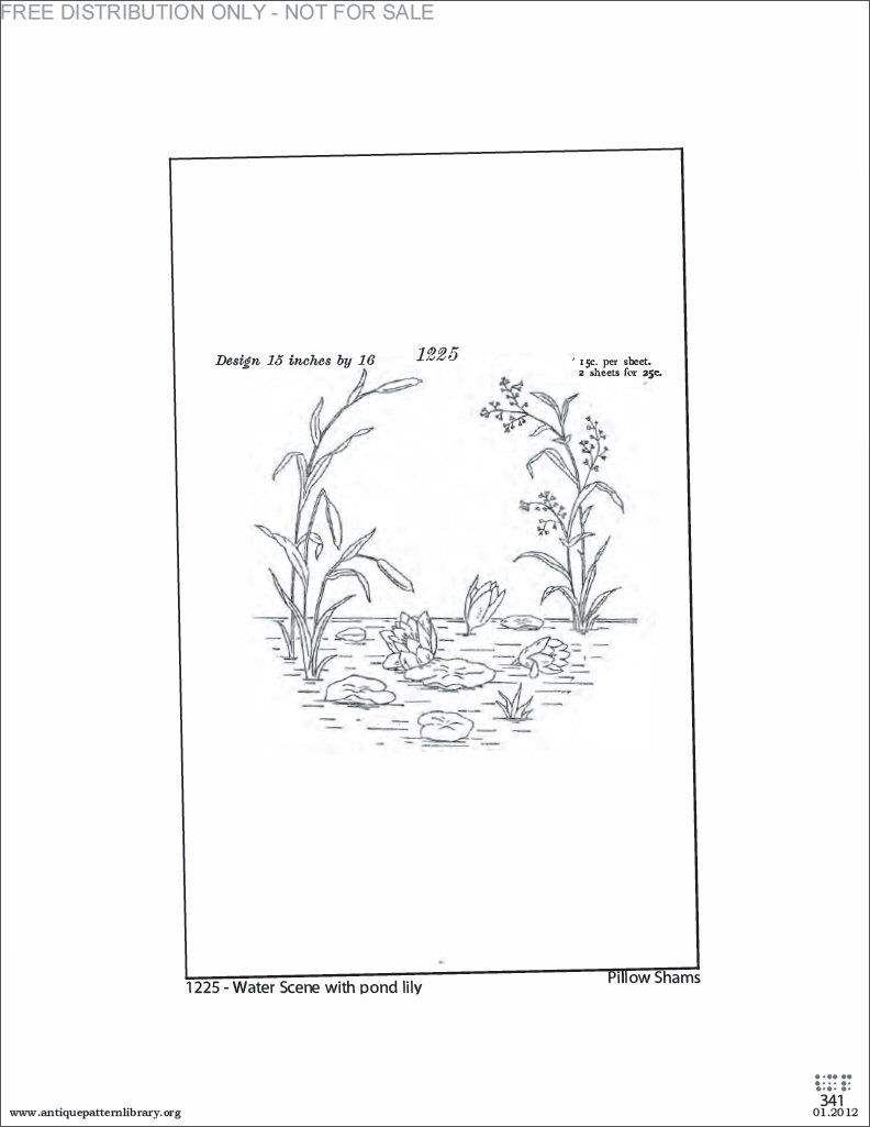 Pond scene embroidery pattern transfer embroidery flowers pond scene embroidery pattern transfer bankloansurffo Gallery