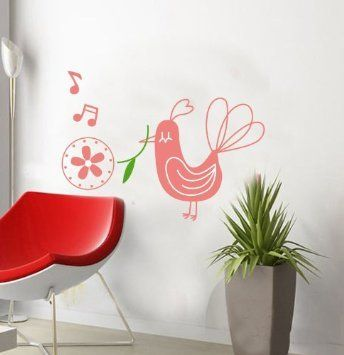 Sweety Removable Wall Sticker Decor Decal Room Background ...