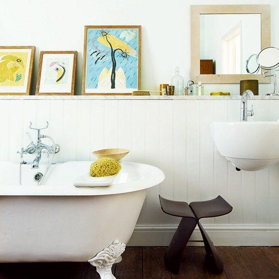 cadres poser dans votre salle de bain httpwwwhomelisty - Cadre Salle De Bain