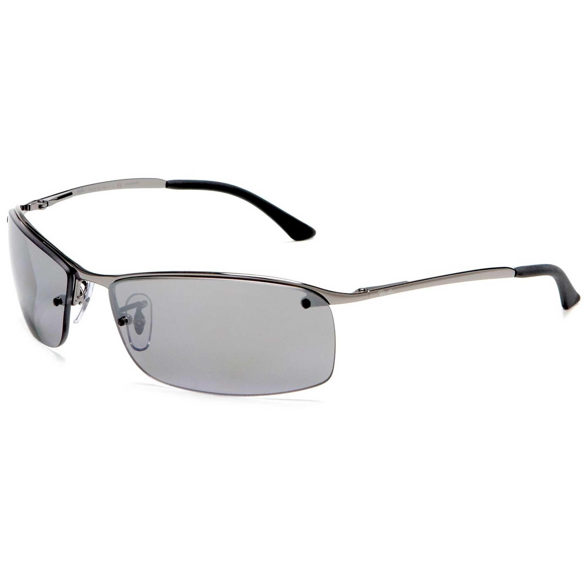 594ac33c9b Ray-Ban Gunmetal Silver Mirror RB3183 Polarized Sunglasses ...