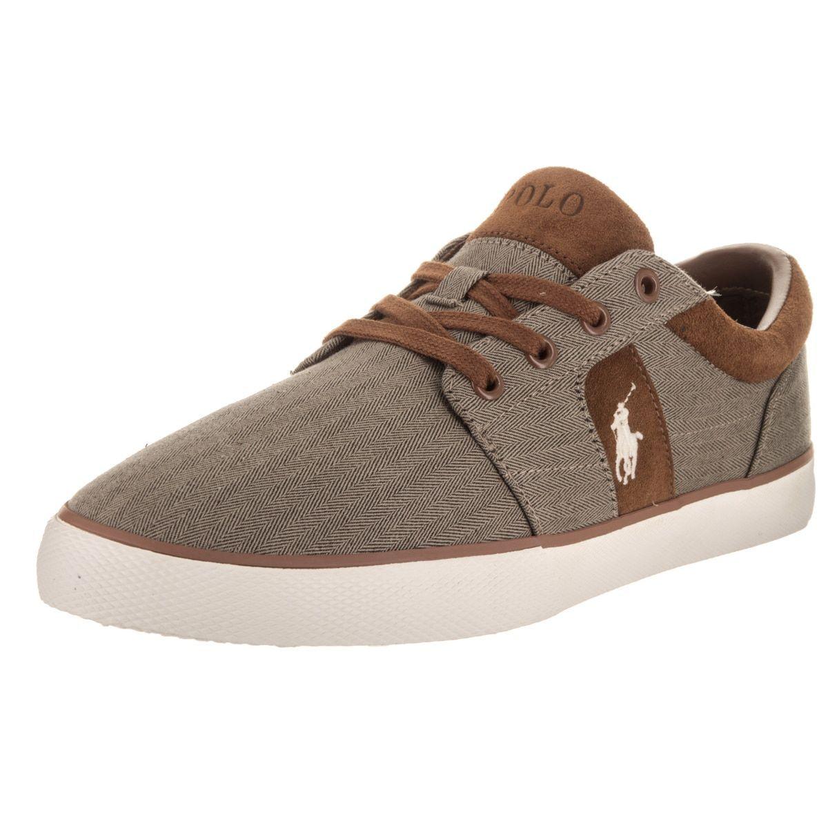 Polo Ralph Lauren Men's Halmore II Sk Vlc Casual Shoes