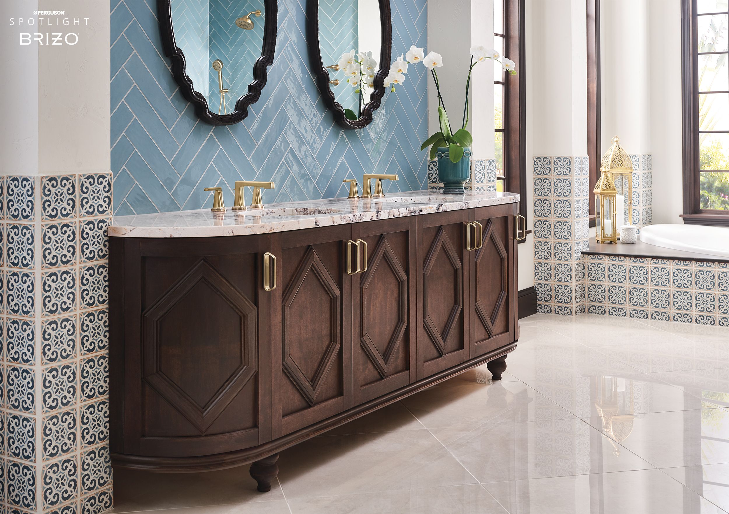 Brizo® Levoir™ Bath Collection | Ferguson Spotlight in 2019 | Bath