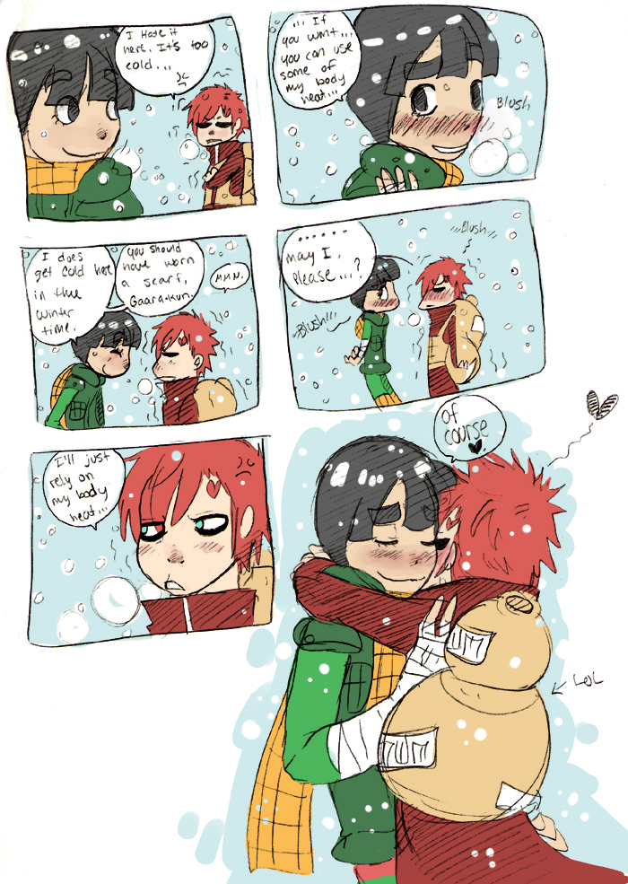 Gaara & Lee | sand siblings | Pinterest Gaara And Rock Lee Yaoi