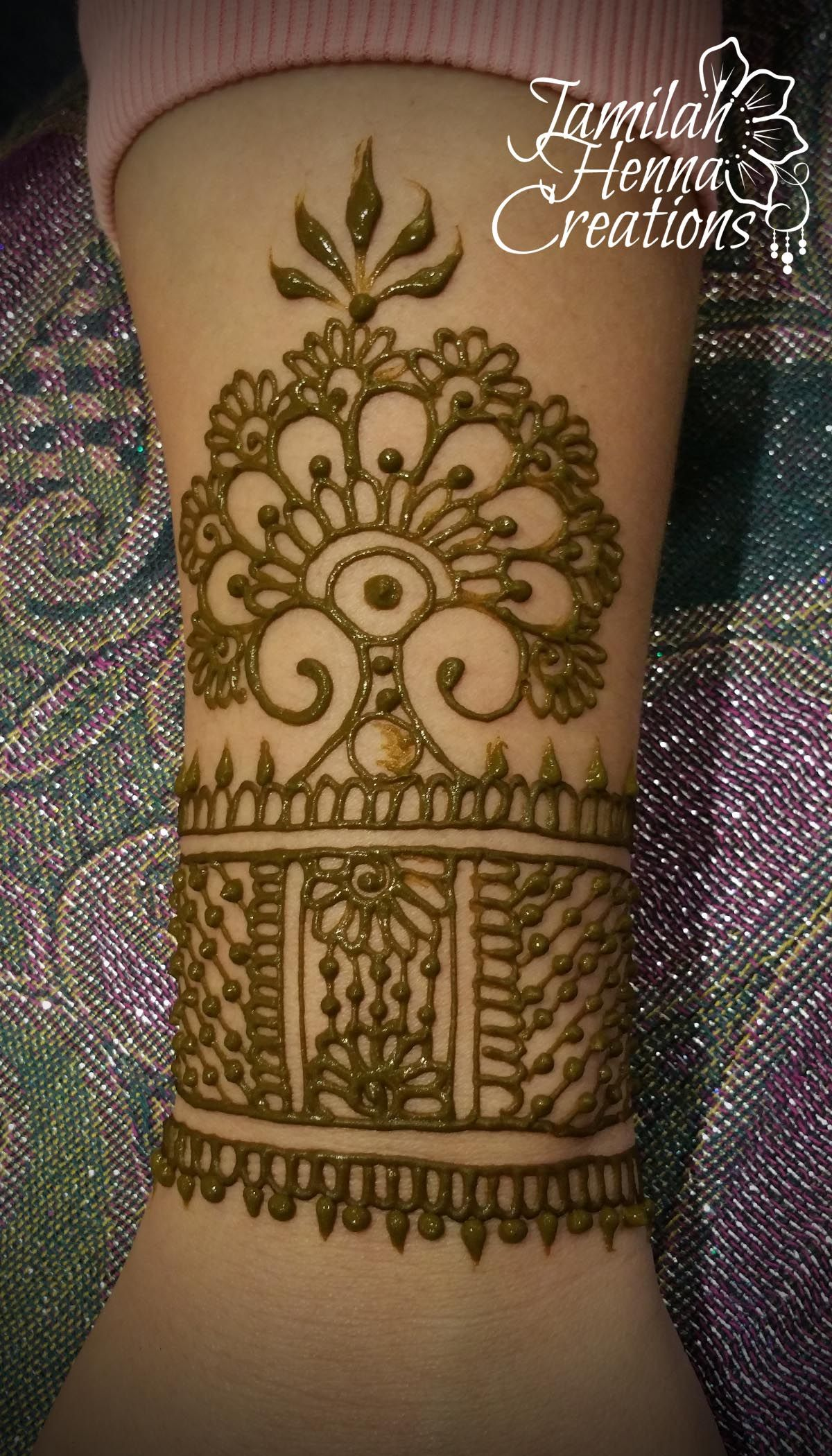 Henna Cuff Www Jamilahhennacreations Com