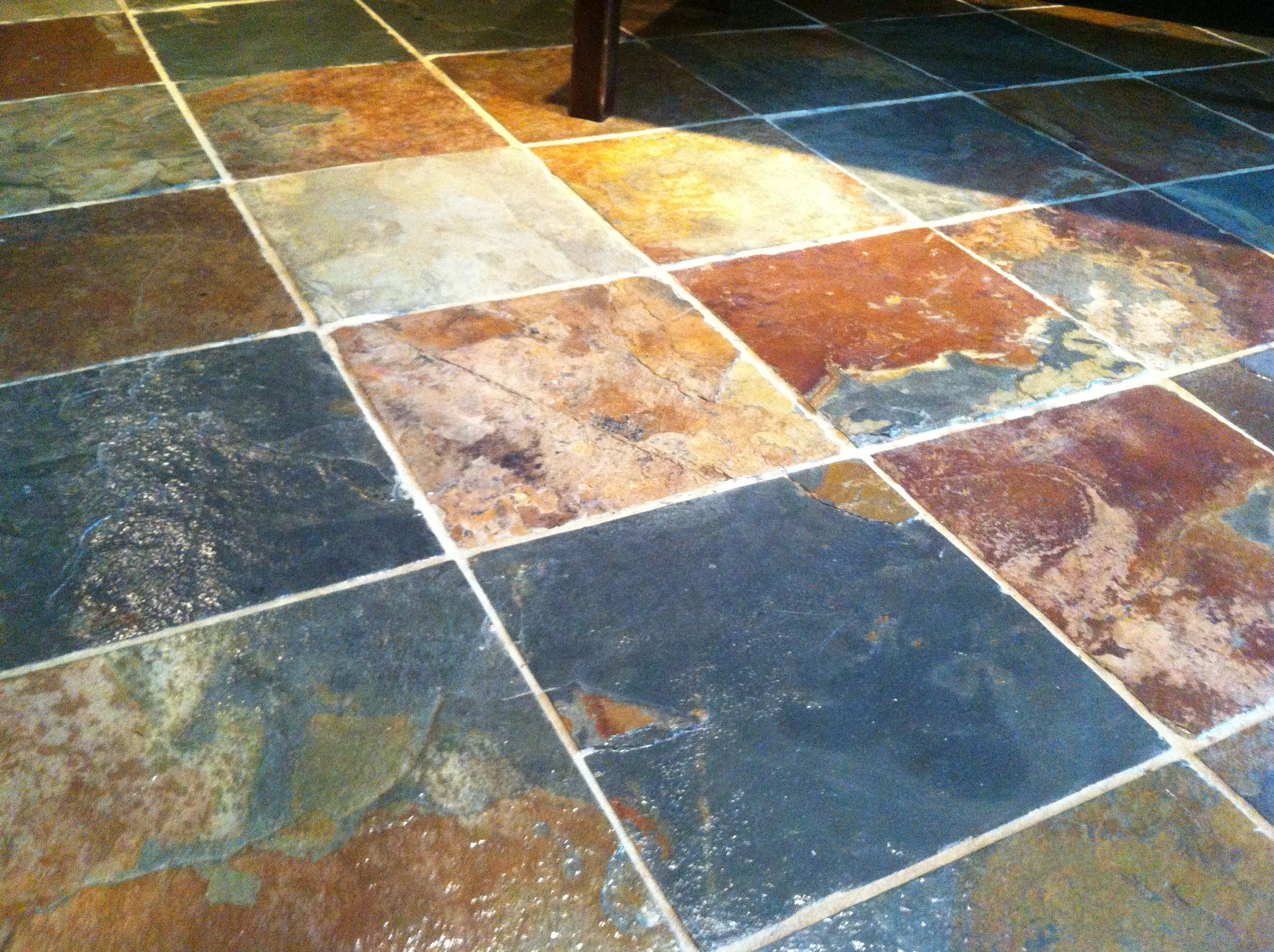 Tips on sealing natural slate tile flooring tile flooring slate tips on sealing natural slate tile flooring dailygadgetfo Image collections