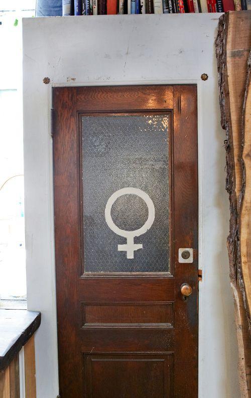 sneak peek evan oliver haslegrave Bathroom doors Public