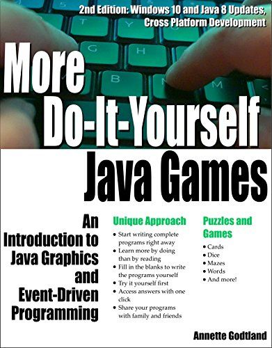 More do it yourself java games an introduction to java graphics and more do it yourself java games an introduction to java graphics and event solutioingenieria Image collections