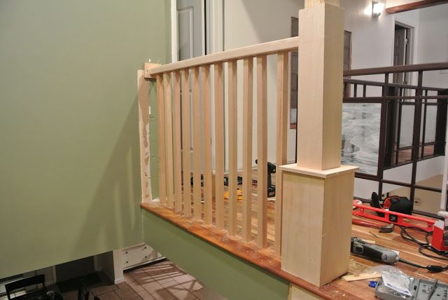 Best Re Do Pergola Post Trim With Taller Trim Like This Stair 400 x 300