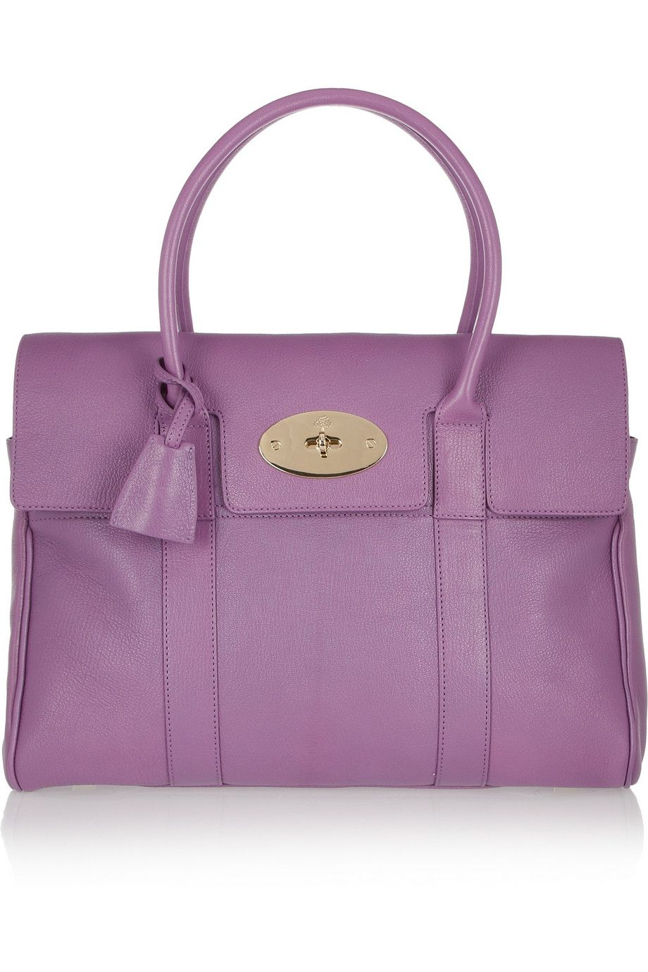 Mulberry - The Bayswater glossed-leather bag