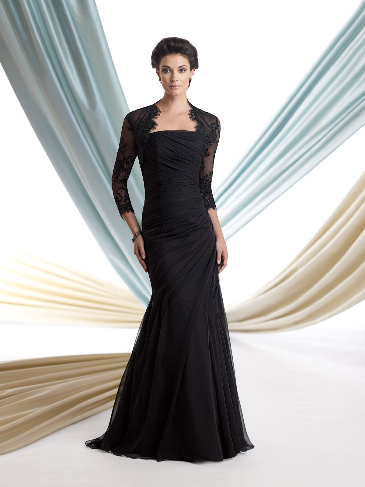 Sophisticated mother of the bride dresses by mon cheri mons