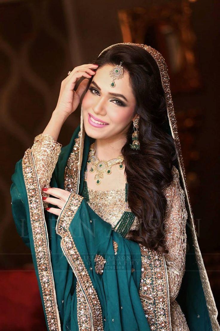 Nice wedding dress blue u green pakistani wedding outfits irfan