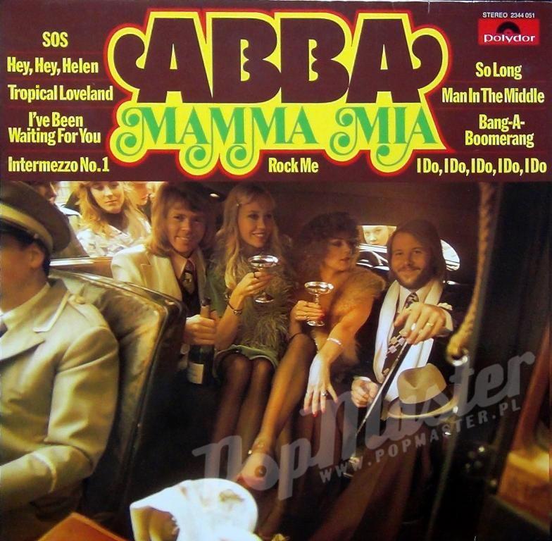 Abba Mamma Mia Stereo 2344 051 Plyty Gramofonowe S Album Covers