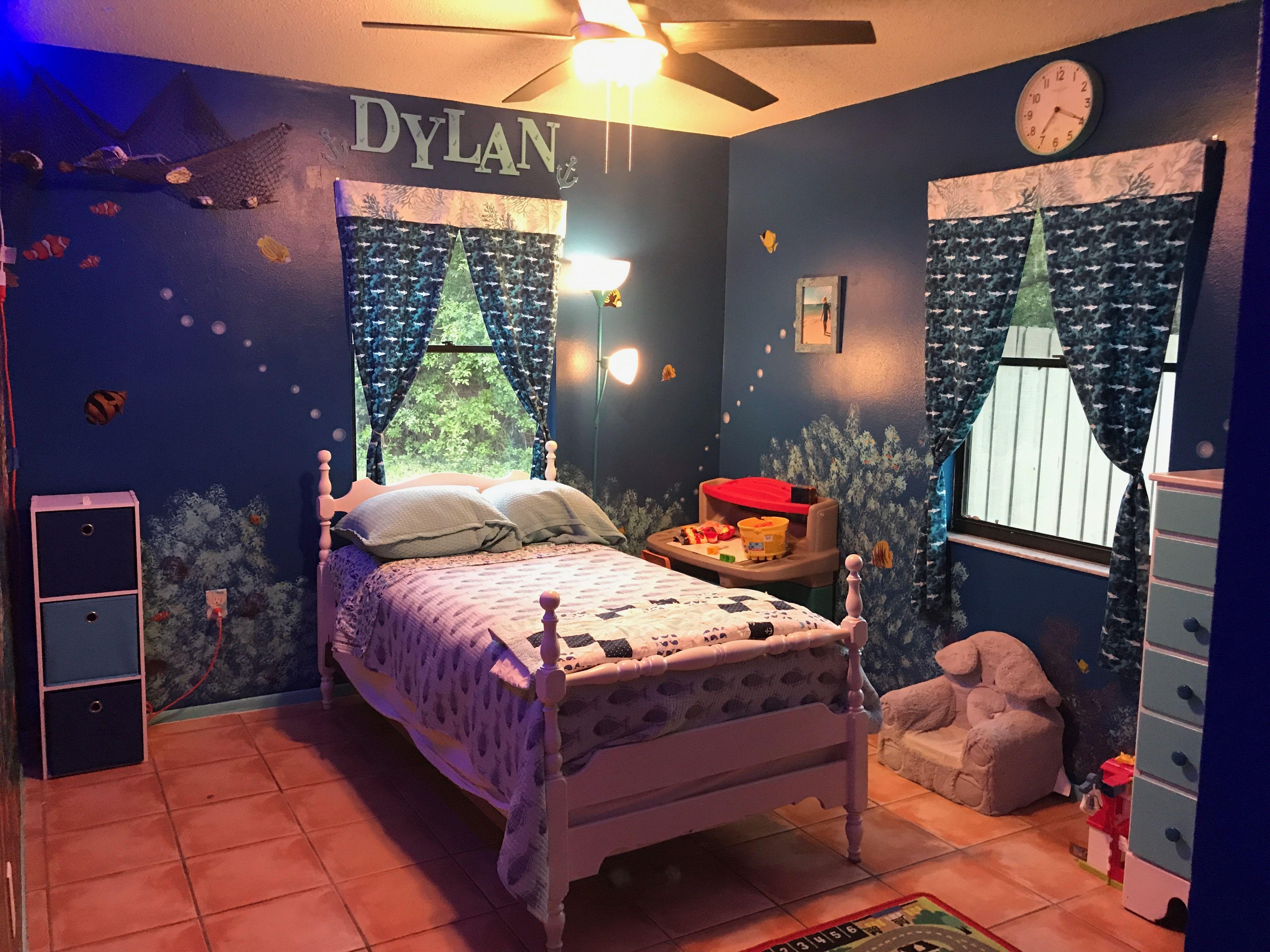 Decorating theme bedrooms - Maries Manor: ocean  Underwater Bedroom Decorations