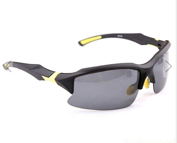 2a5cc0f158b6 Cycling Sports Sunglasses Polarized Safety Glasses UV400 Outdoor Black