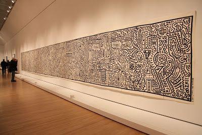 Habitually Chic®: Keith Haring at the Brooklyn Museum