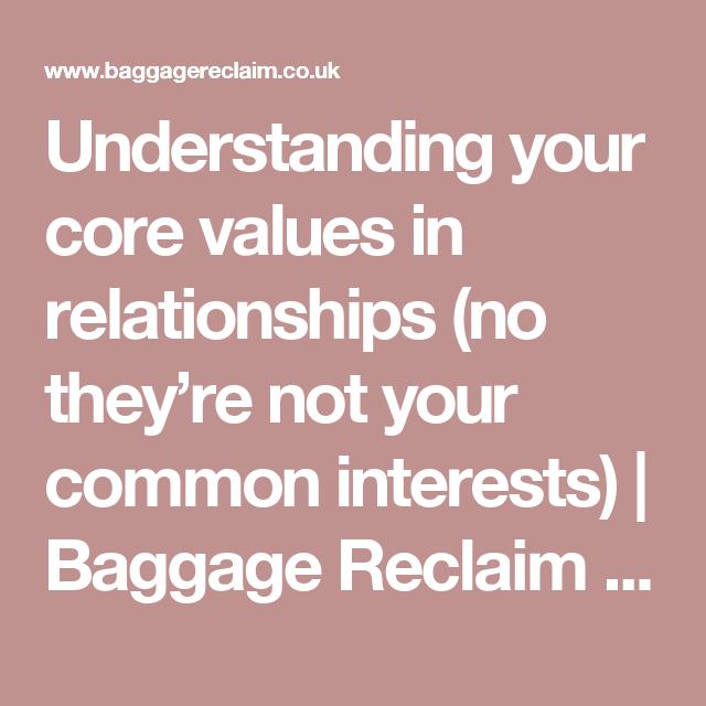 Baggage reclaim dating tips