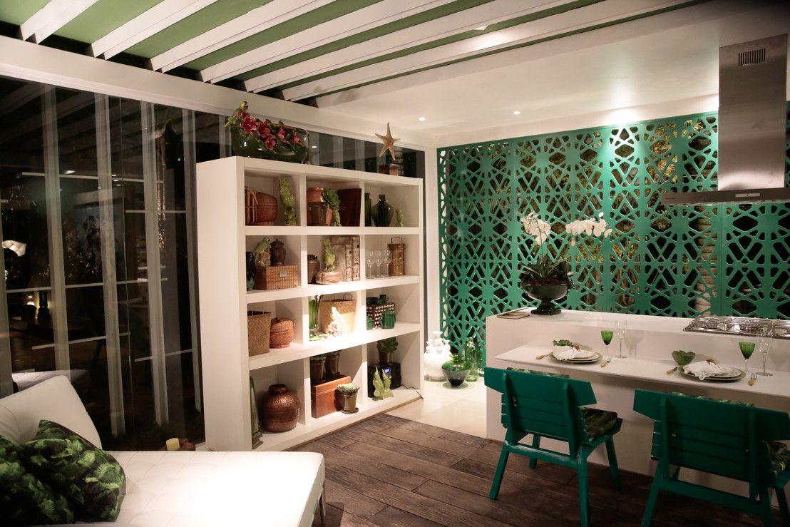 Estante cozinha.https://www.homify.com.br/livros_de_ideias/31895/7-exemplos-de-estantes-incriveis