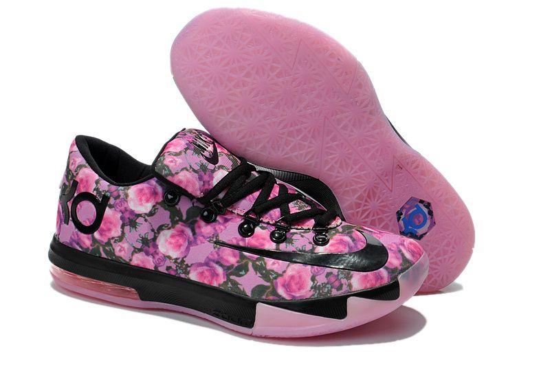 watch 813b9 8bd4d Sale Nike KD 6 VI Pink Black Online Cheap For Sale