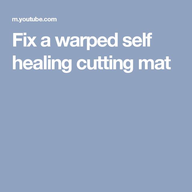 Pin On Cutting Matt Fix Warp