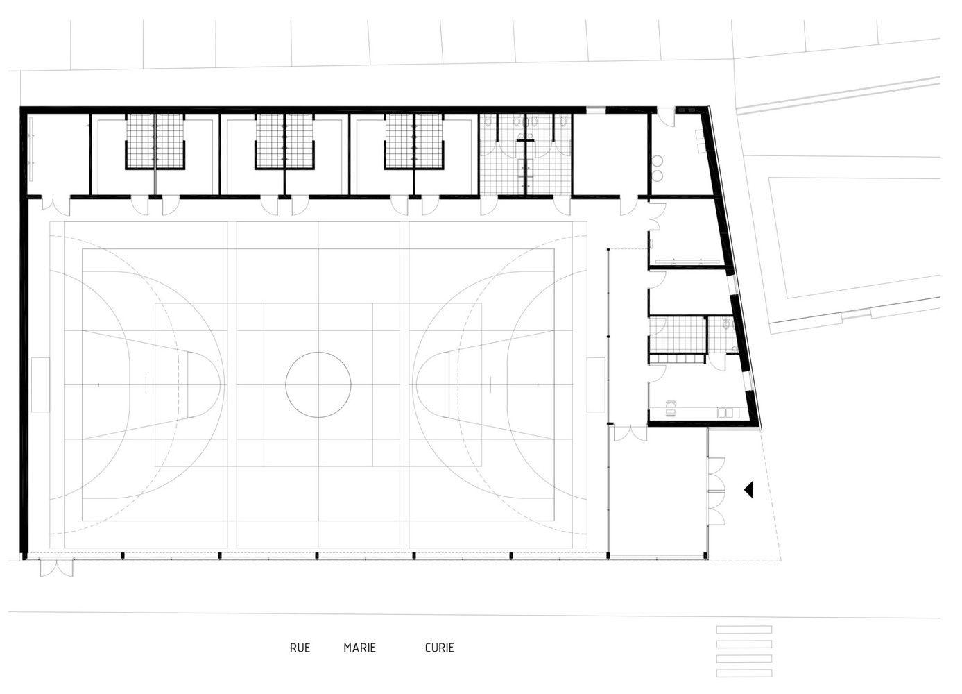 Galería de Gimnasio del Colegio Asnières-sur-Seine / Ateliers O-S architectes - 12