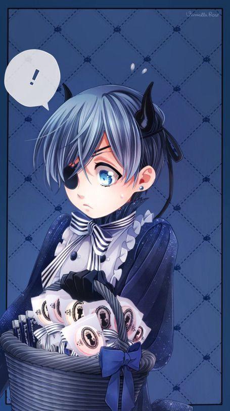 Kuroshitsuji   Japanese anime   Black butler ciel, Black butler