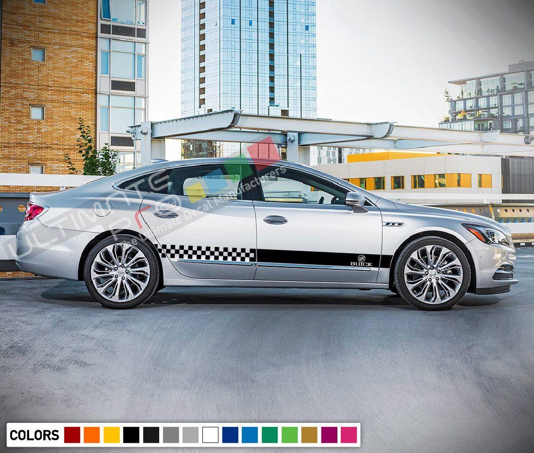 Decal Sticker Stripes For Buick Lacrosse Body Trim 2017 2018 Carbon Rims Lip Trunk Light Buick Lacrosse Stripe Kit Buick