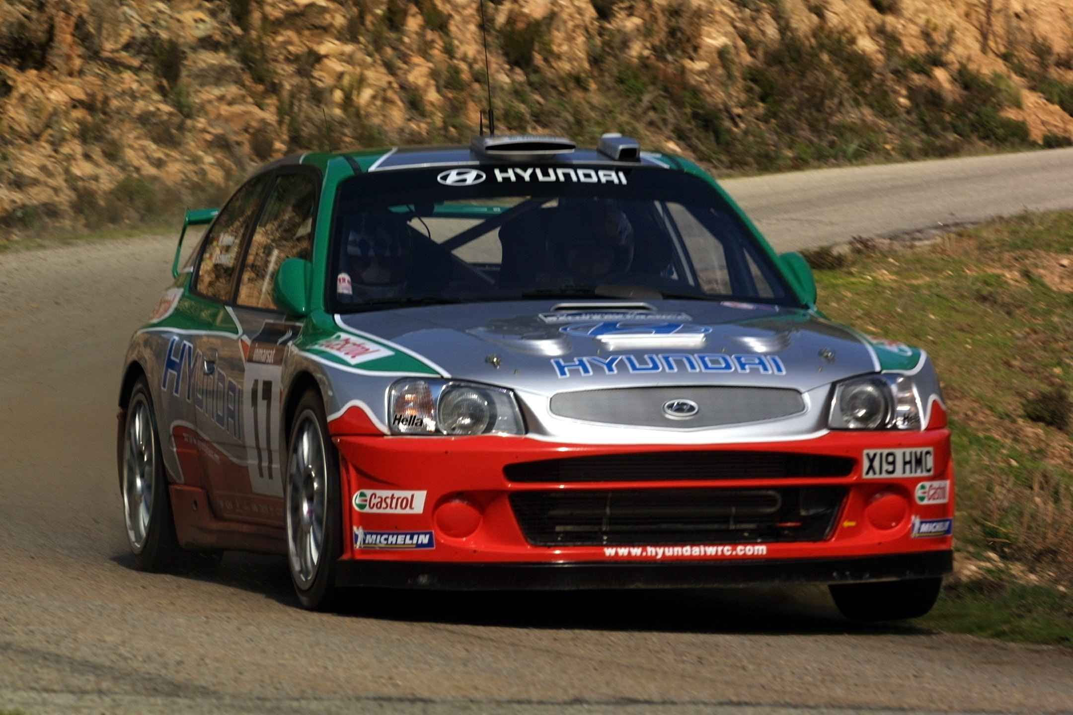 Hyundai Accent Wrc Sporty Cars Fast Rugged Cars Hyundai