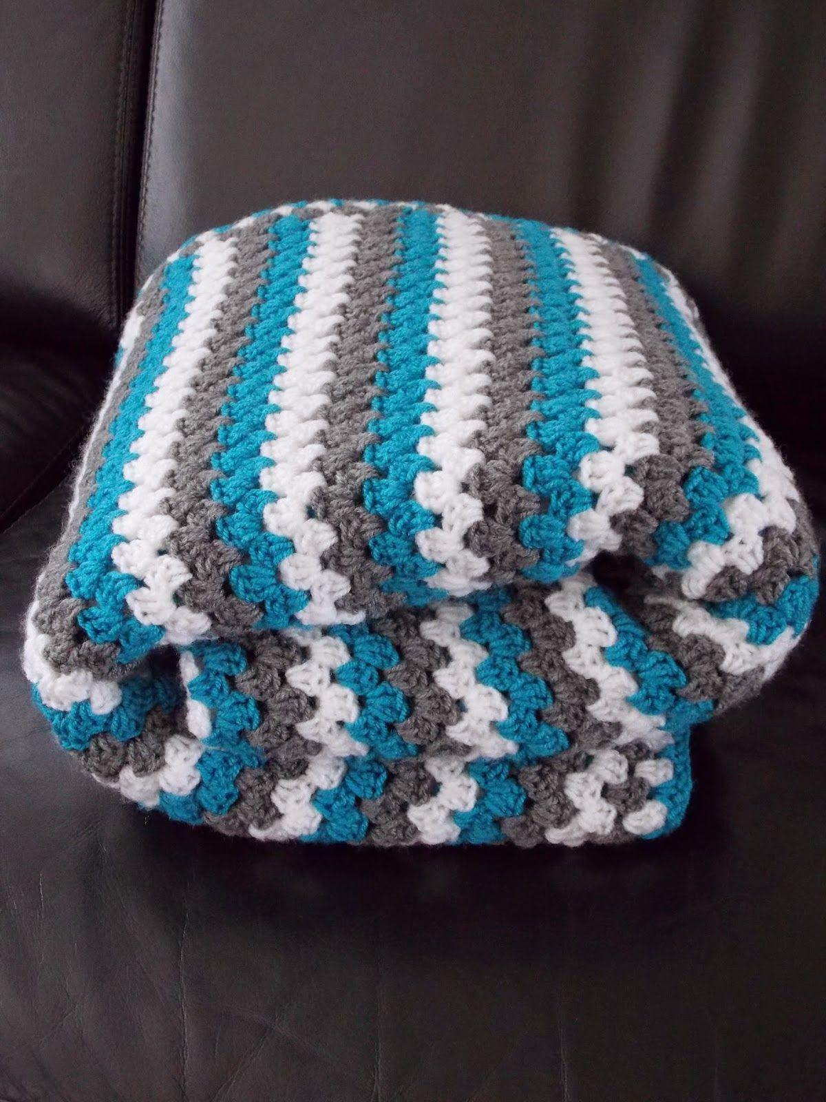 Granny stripe blanket   Huis   Pinterest
