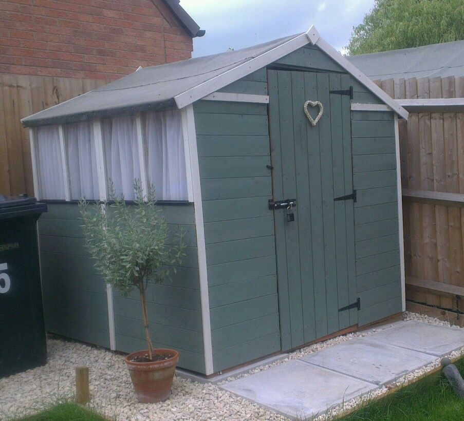 My Shed - BillyOh tongue & groove painted with Cuprinol Wild Thyme ...