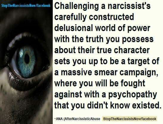 Image result for narcissist smear campaign destroy you