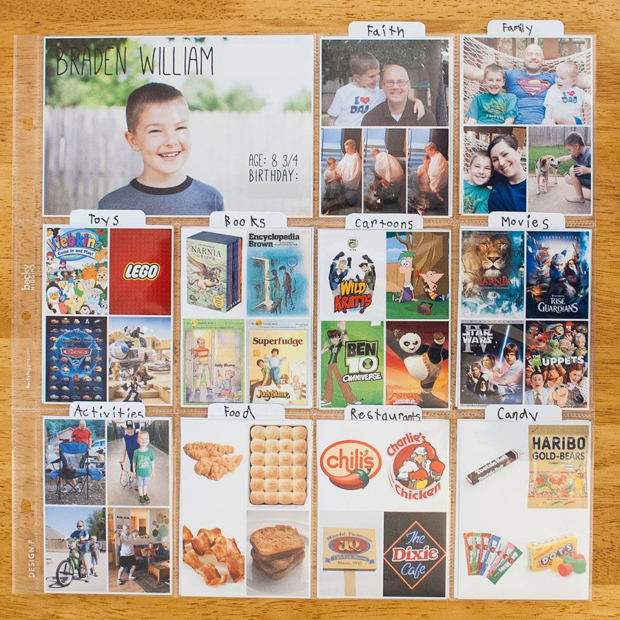 Scrapbook ideas school project - Love This Idea Kids Project Life All About Me Would Be Neat Project Life Scrapbookkid Projectsschool