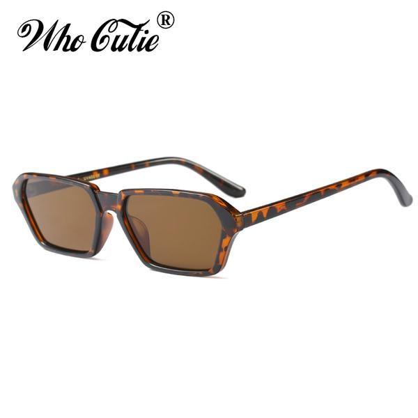 201b28f231c  FASHION  NEW WHO CUTIE 2018 Oversized Hexagon Sunglasses Women Men Vintage  Fashion Brand Designer Red Black Polygon Frame Sun Glasses OM572