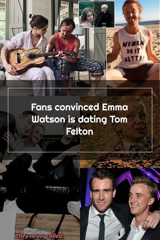Fans convinced Emma Watson is dating Tom Felton di 2020
