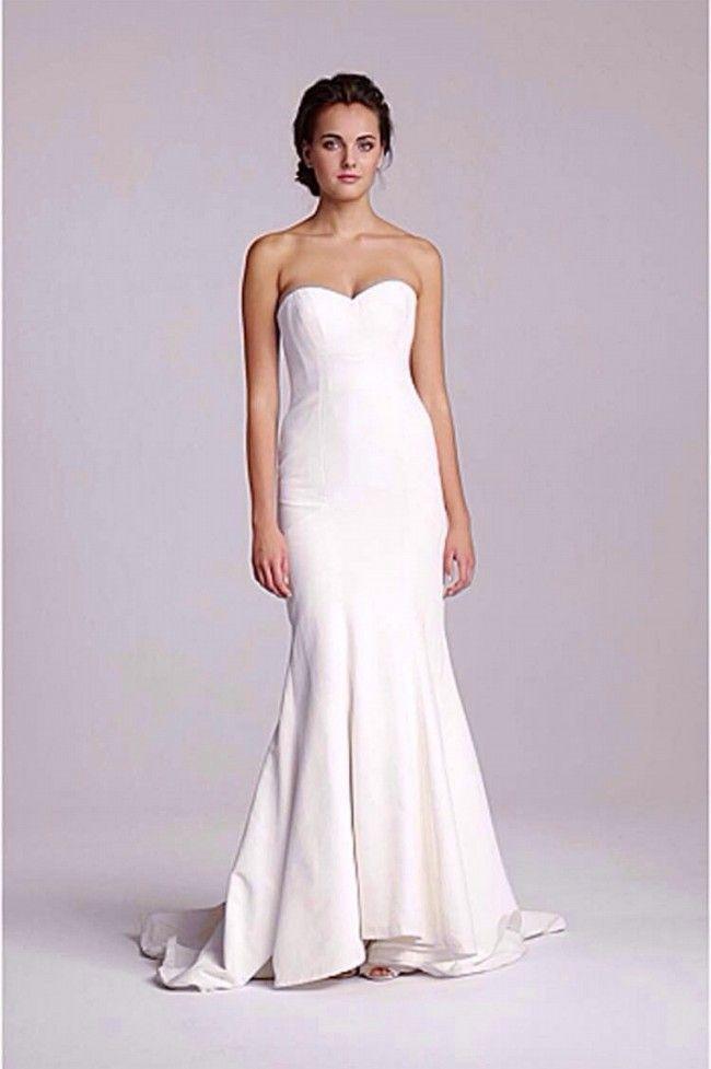 Nicole Miller Dakota Wedding Dress   beach bride   Pinterest ...