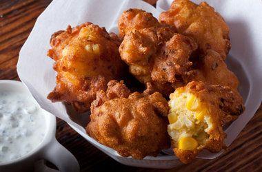 Crispy Corn Fritters — Punchfork