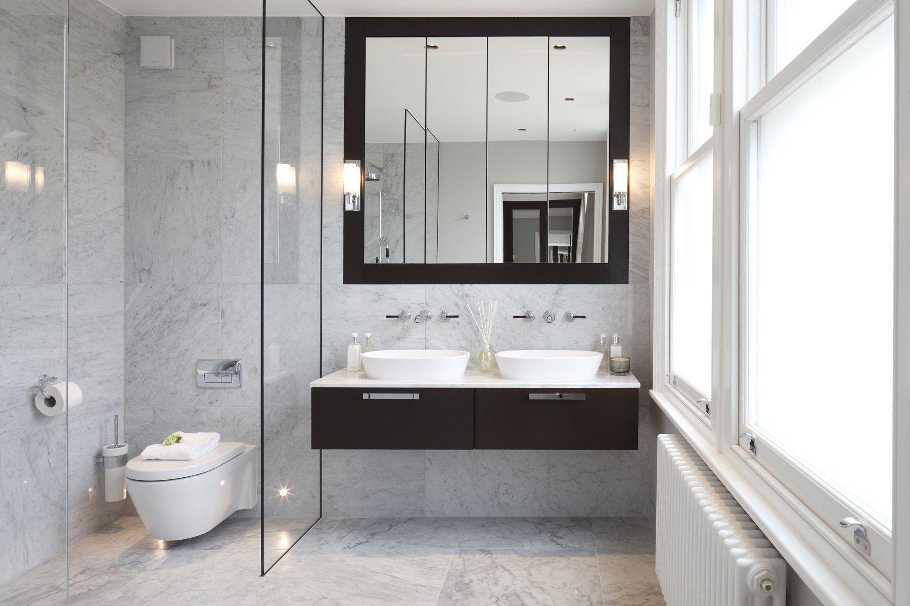 St albans ave chiswick london interior design laura for Bathroom interior design london